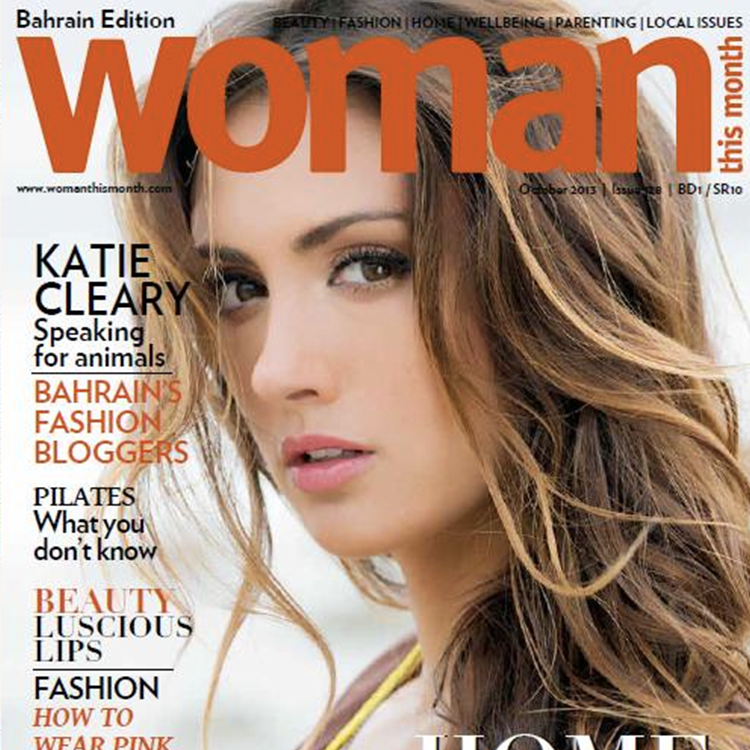 Katie Cleary Animal Rights Woman Magazine